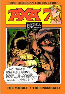 Axa Comic Book